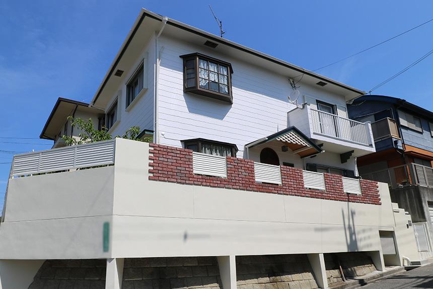 外壁塗装工事事例3